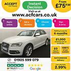2013 WHITE AUDI SQ5 30 BITDI 313 QUATTRO DIESEL AUTO CAR FINANCE FR 75 PW