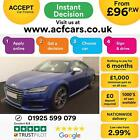 2015 BLUE AUDI TTS COUPE 20 TFSI 310 QUATTRO PETROL AUTO CAR FINANCE FR 96 PW