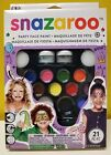 Snazaroo Party Face Paint 21 Pieces 1180100 New in box Ships Free