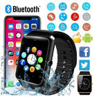Touch Screen Smart Watch Wrist Bluetooth SIM Card Camera For Android IOS HTC