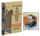 The Captain is Out CHARLES BUKOWSKI First Edition SIGNED by ROBERT CRUMB 1998
