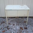 Vintage Double Wash Tub Tubs Galvanized Metal Wheeling Primitive Beer Cooler