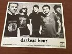 Darkest Hour Metal Band Press Photo Victory Records -10 x 8 Photo