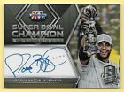 2018 Spectra Super Bowl Champion #40 Jerome Bettis On Card Autograph #07 15