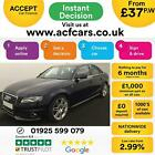 2011 BLUE AUDI A4 20 TDI 120 S LINE SPECIAL EDITION SALOON CAR FINANCE FR 37PW