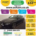 2011 BLACK AUDI A4 20 TDI 170 BLACK EDITION DIESEL SALOON CAR FINANCE FR 33 PW