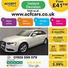 2014 WHITE AUDI A4 AVANT 20 TDI 136 SE TECHNIK DIESEL MAN CAR FINANCE FR 41 PW