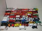 MATCHBOX HOTWHEELS  OTHERS 63 PIECE LOT FIRE RESCUE POLICE AMBULANCE