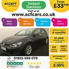 2013 BLACK VW GOLF 14 TSI 122 SE DSG PETROL AUTO 5DR HATCH CAR FINANCE FR 33PW