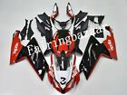 Fit for 2007-2010 Aprilia RS125 Red Black White ABS Injection Mold Fairing Kit