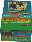 1989 Score Football Wax Box (From a Factory Sealed Case) Sanders(R) Aikman(R)