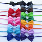 50pcs Lot DOG Puppy CAT Pet Bowtie Pet Bow Tie Polyester Dog Necktie Wholesale