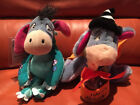 "HALLOWEEN 2 BEANIE PLUSH TY DISNEY WARNER BROTHERS ""EEYORE DINO /TRICK OR TREAT"""