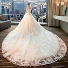 Lace Princess Wedding Dress 2018 Ball Gown Embroidery Elegant Wedding Dressess