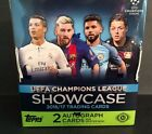 2017 Topps UEFA Champions League Showcase Soccer Factory Sealed Hobby Box