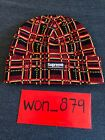 Supreme Plaid Black Red Beanie Sold Out Confirmed FW 18 In Hand