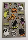 Halloween Stickers Cute Velvet Accents FUN Sheet Lots Of Uses