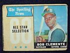 1968 Topps Baseball #374 Roberto Clemente [Pittsburgh Pirates] AS