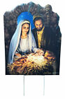 Christmas Nativity OUTDOOR Yard Sign Weather Resistant Christmas Decoration