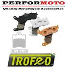 Piaggio 50 NRG Power DT 06-11 Trofeo Sintered Front Brake Pads