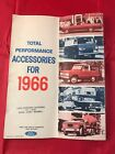 1966 FORD MUSTANG FAIRLANE BRONCO GALAXIE ACCESSORIES SALES BROCHURE CATALOG