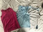WOMENS WORKOUT TOPS 3 SMALL TECH TANK LOT OF 3 EXERCISE SHIRTS