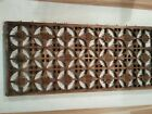 VINTAGE HAND CARVED WOODEN WALL PANEL