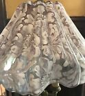 RARE ANTIQUE PAIRPOINT REVERSE PAINTED MOZART FLORAL TABLE LAMP SHADE