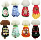 US Halloween Pet Dog Clothes Puppy Cat Hoodie Coat Winter Warm Sweater Costume