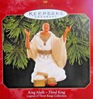 1999 King Malh Legend of Three Kings Collection Hallmark Ornament Collector Card