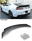 For 16 Up Camaro 1LE Extended Style 3 Pcs Rear Trunk Lid Wing Wickerbill Spoiler