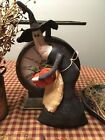 Primitive* Hand-crafted* Gertie the Witch* Ornies* Shelf Sitter* Halloween