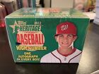 2012 TOPPS HERITAGE HIGH SERIES BASEBALL COMPLETE SET SEALED BRYCE HARPER AUTO?