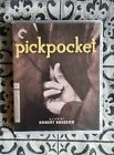 Pickpocket Dual Format Blu ray 2014 Criterion Robert Bresson Like NEW