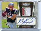 2010 Topps Unrivaled ROB GRONKOWSKI Rookie RC Auto Autograph Patch 125 149
