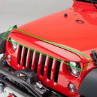 Undercover Eye Brow Nighthawk Angry Grille Deflector For 07 17 Jeep Wrangler JK