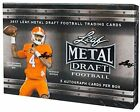 2017 Leaf Metal Draft Football Hobby Box Sealed New