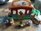 Fisher Price Little Drummer Boy Christmas Nativity play set with box