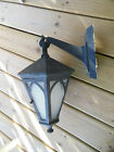 Crafts Porch Lamp Lantern, 6-Sided with Door, Wall Mount