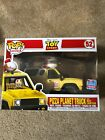 Toy Story Pizza Planet Truck w Buzz Lightyear Funko Pop Rides NYCC Exclusive