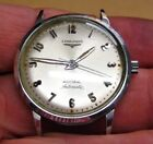 Mens LONGINES All Stainless ADMIRAL 1200 AUTOMATIC Wrist Watch VINTAGE Working