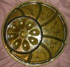 Vintage Indiana Glass Co Egg Tray Plate 13