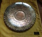 Antique Nobility Silver Plate Tray Open Work 13