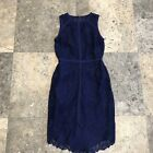 NWT Adelyn Rae Royal Blue Lace dress- high low size small