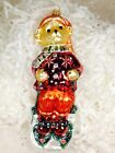MUFFY by RADKO Sleddin' and Skiddadlin' 1997 MUFFY VANDERBEAR NWT Ornament