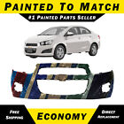 Painted To Match Front Bumper Cover Replacement For 2012-2016 Chevy Sonic 12-16