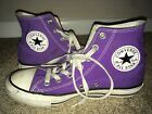 CONVERSE ALL STAR Unisex Purple High Top Sneakers Shoes EUR 375 Mens 5 Womens 7
