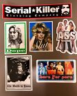 Serial Killer cothing company 6 vinyl stickers Rare vintage out of print Punk
