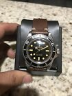 Rare Mens Vintage Rolex Submariner 5512 Glossy Gilt Meters First 2 Line Dial