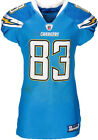 2011 Vincent Jackson Game Worn Unwashed San Diego Chargers Jersey Photo Matched